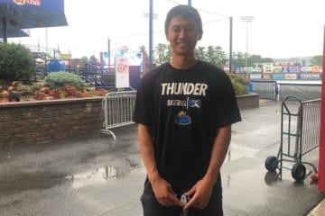現在はヤンキース傘下2Aトレントンに所属する加藤豪将【写真:編集部】