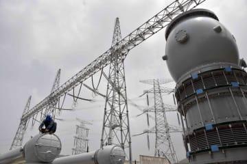 棗荘市で進む特別高圧送電プロジェクト 山東省