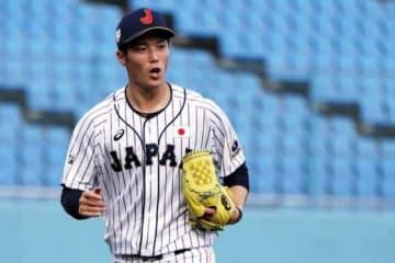 16日の試合に先発した侍ジャパン大学日本代表・森下暢仁【写真:Getty Images】