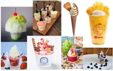 そごう横浜店で初開催「アイスフェス」話題のアイスモンスターやロールアイスクリームも登場