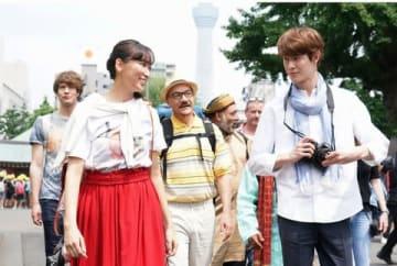 ドラマ「偽装不倫」の第2話の1シーン(C)日本テレビ