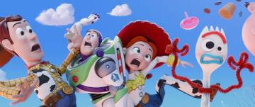 劇場版アニメ「トイ・ストーリー4」のビジュアル (C)2019 Disney/Pixar.All Rights Reserved.