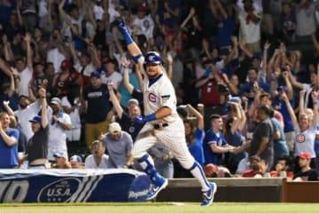 劇的サヨナラ本塁打を放ったカブス・シュワーバー【写真:Getty Images】