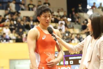 世界選手権は第2シードで臨むことになった乙黒拓斗(山梨学院大)