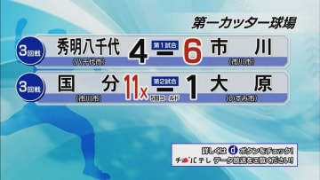 夏の高校野球千葉大会 7月17日試合結果(3回戦・第一カッター球場)