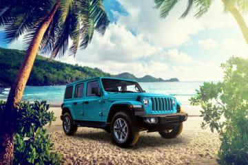 Jeep Wrangler(ラングラー)/Renegade(レネゲード)に海の雰囲気を演出した特別色の限定車「BIKINI Edition」登場 外装