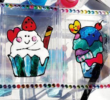 まるでステンドグラス!夏休みに〝ディンプルアート体験〟横浜市南区永田地区センター