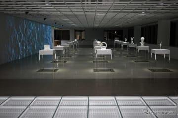 ベンチャーラボ技術展示スペース