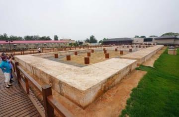 北戴河秦行宮遺跡博物館、一般公開始まる 河北省