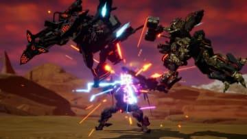 『デモンエクスマキナ』ゲームシステムが一目瞭然の3rdトレイラー公開!動力源「フェムト」の使い方で戦況は大きく変化する