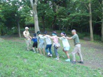 夏の夕方の自然を感じる「ネイチャーゲーム」参加費無料!@座間谷戸山公園