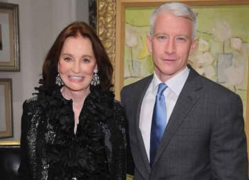 Gloria Vanderbilt Leaving Son Anderson Cooper The Estate Instead Of Trust Fund