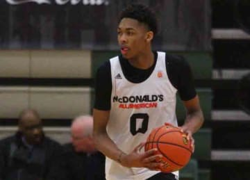 Brandon Ingram in the w:2015 McDonald's All-American Boys Game closed practice