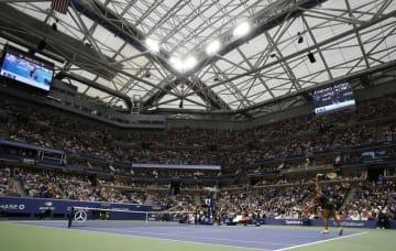全米オープンが開催されるビリー・ジーン・キング・ナショナル・テニスセンター=ニューヨーク