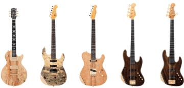 「HISTORY」から高級銘木を使用した25周年記念モデルを7月26日(金)発売。エレキギター・ベース全5アイテム