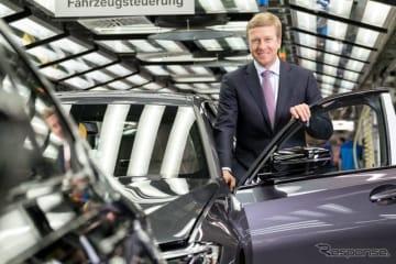 BMWグループの新会長に指名されたオリバー・ツィプセ氏