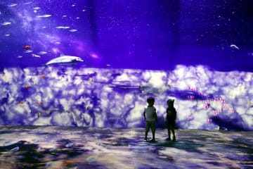 「OCEAN BY NAKED 如海・空間」、上海で公開 過去最大規模
