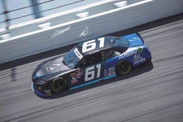 服部茂章率いるHRE、NASCARエクスフィニティにGRスープラで参戦。初戦はトラブルも「感触はつかんだ」