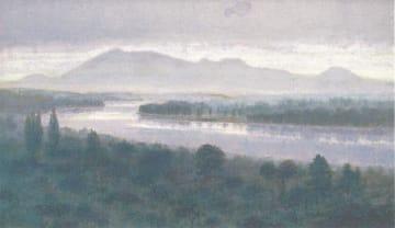 「水辺の情景」大磯町在住の画家・渡辺弘文 初の個展