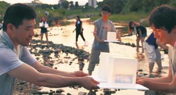 7月20日「八王子とうろう流し」市役所近くの浅川で~よさこいや和太鼓演奏も~