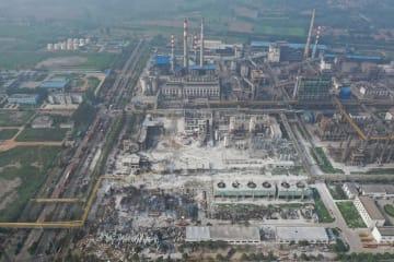 河南省義馬市のガス工場で爆発事故 10人死亡 5人不明