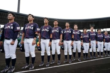 侍ジャパン大学代表がアメリカ代表相手にリード【写真:Getty Images】