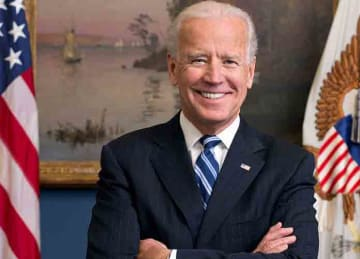 Official portrait of United States Vice President Joe Biden in his West Wing Office at the White House.