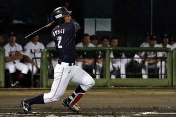 2本塁打と躍動した侍ジャパン大学代表・郡司裕也【写真:Getty Images】