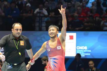 世界一返り咲きを目指し、今年最後のランキング大会に出場する67kg級の柳漢壽(韓国)