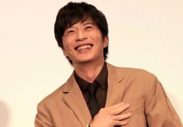 映画「劇場版 おっさんずラブ ~LOVE or DEAD~」の公開記念イベントに登場した田中圭さん