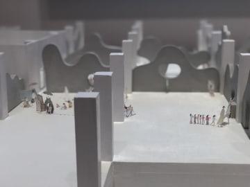 建築家・石上純也さん個展、上海で開催中