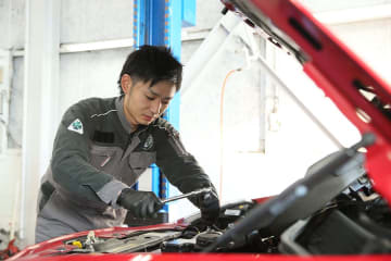 業務効率が改善し、仕事に意欲的に取り組む整備士