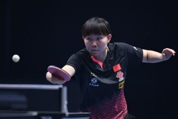 朱雨玲、女子シングルス決勝進出 卓球・T2ダイヤモンド