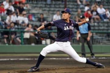 最優秀投手賞を獲得した侍ジャパン大学代表・早川隆久【写真:Getty Images】