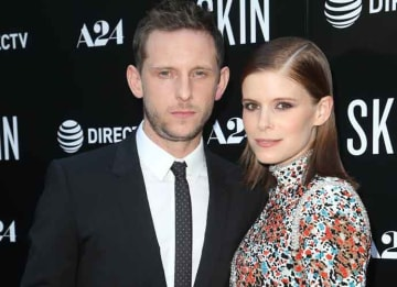 Jamie Bell & Kate Mara Cuddle Up At Screening Of 'Skin'