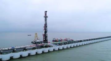 盛虹集団のRAPID付帯埠頭建設始まる 江蘇省連雲港