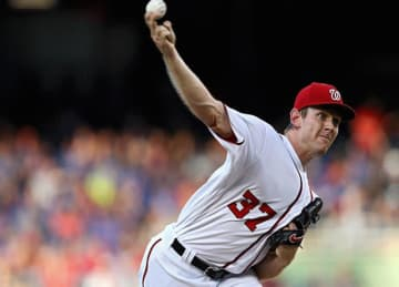 Stephen Strasburg & Nationals Beat Mets 7-4 At Home