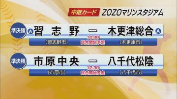 夏の高校野球千葉大会 準決勝組み合わせ