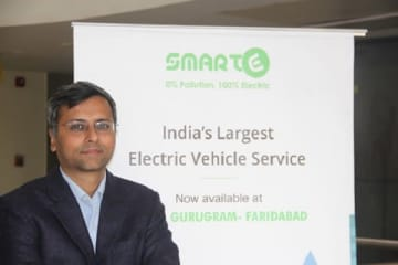 Goldie Srivastava, co-founder and CEO, SmartE (file photo).
