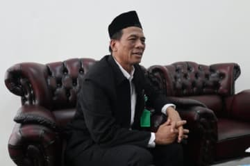 Professor Sukoso, head of Indonesia's Halal Product Assurance Organizing Agency