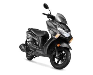 バーグマン・ストリート=スズキ・モーターサイクル・インディア提供