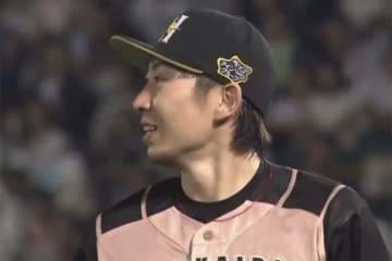6回を投げ無安打投球を披露した日本ハム・金子弌大【画像:(C)PLM】