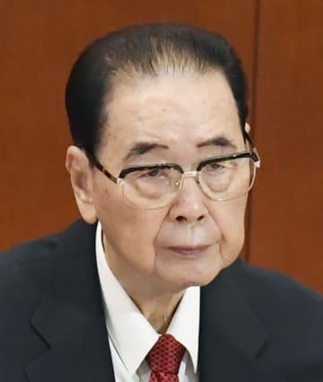 中国の李鵬元首相