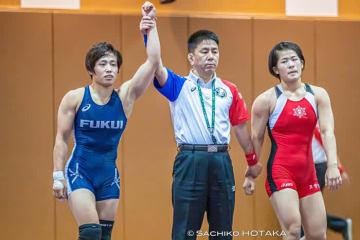 Nanami Irie beat Haruna Okuno(photo by Sachiko Hotaka)