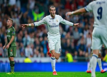 Gareth Bale Scores Real Madrid's Fastest Champions League Goal in 3-3 Tie with Legia Warsaw