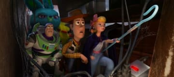 ウッディが…… - (C) 2019 Disney / Pixar. All Rights Reserved.