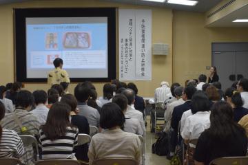 ひたちなか市と市医師会が開いた予防接種の間違い防止研修会=6月6日、同市松戸町