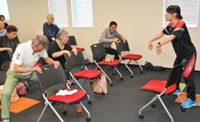 患者らが筋力トレーニングなどを学んだ「生活習慣病教室」