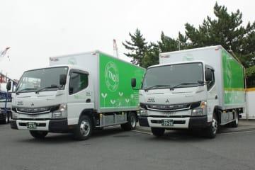 三菱ふそう 電気小型トラック「eキャンター」 東京納品代行へ納入