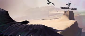 荒廃した世界を旅するADV『Vane』PC版がSteam配信開始―鳥と子どもを切り替えながら進め
